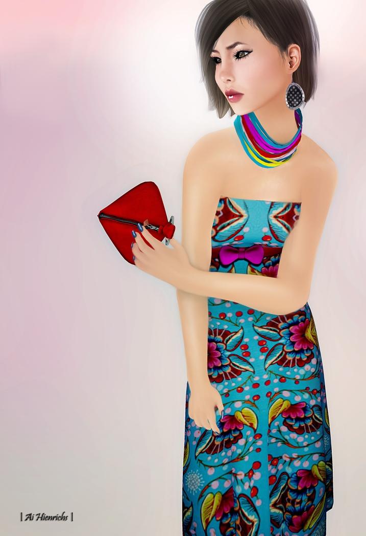 Spring dress 1503