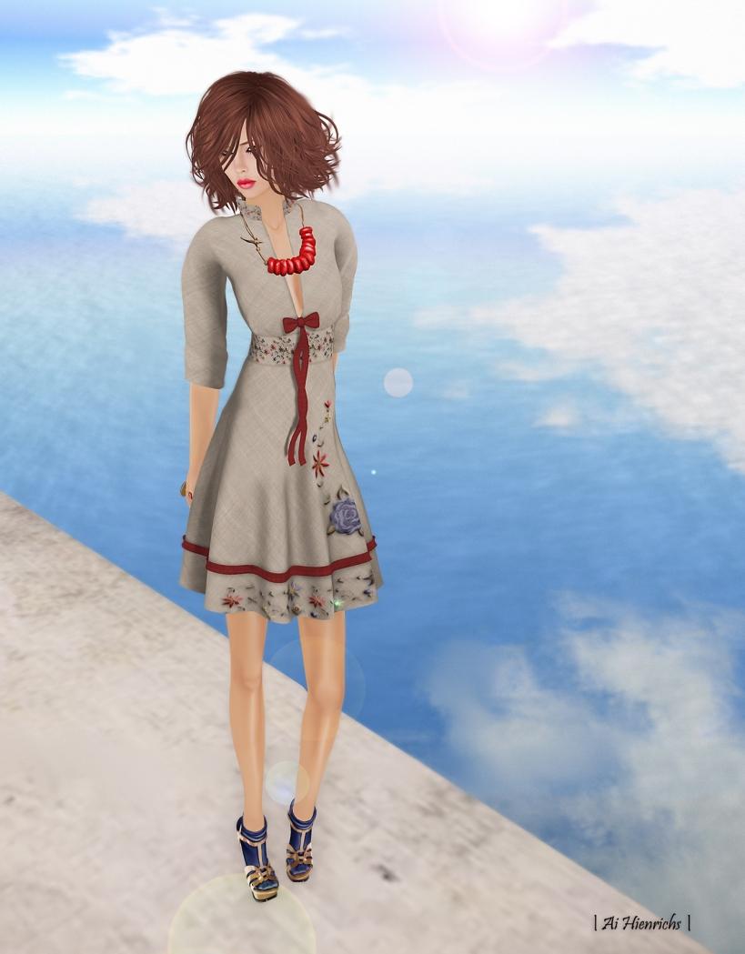 Spring Dress 1728