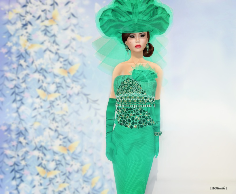 Emerald Gown 2622